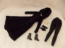 Twilight - Eclipse - Jane Doll - Fashion Only - Black Coat, Boots & More