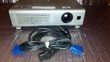 HITACHI CP-S235 MULTIMEDIA PROJECTOR - 417HR LAMP/14HRS FILTER USED.