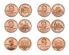 FULL 12-COIN 2009 & 2010 & 2011 P&D PENNY/CENT SET *BU