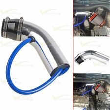 1X Universal 64mm-75mm 3-Inch Car Cold Air Intake Inlet Pipe Hose Tub System Kit