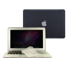 """2 in 1 Rubberized BLACK Case for Macbook AIR 13"""" A1369 with TPU Keyboard Cover"""