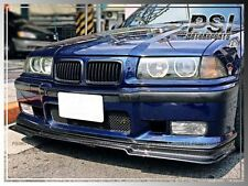 Carbon Fiber V Style Front Bumper Lip for 1992-1998 BMW E36 M3 Coupe Sedan