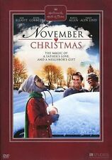 NOVEMBER CHRISTMAS (Sam Elliott - Hallmark) -  DVD - PAL Region 2 sealed