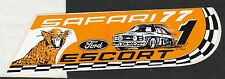 SAFARI RALLY 1977 FORD ESCORT RS 1800 WRC WINNERS ORIGINAL PERIOD STICKER RARE !