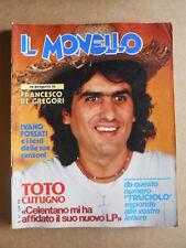 IL MONELLO n°12 1980 Toto Cutugno Ivano Fossati Francesco De Gregori  [G431]