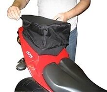 The Cycle Guys FastPack Retractable Motorcycle Back Seat Bag Size #1