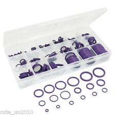 265 Pcs Car A/C System Air Conditioning O-Ring HNBR Seal Coupling Assortment Kit