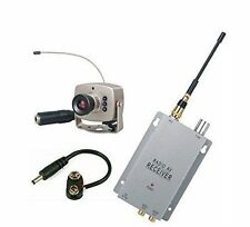 Wireless Camera IR Audio Video Kit with Receiver Security System| Spy Pen watch