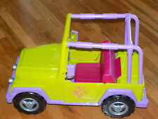 """Our Generation Battat My Way and Highways 4x4 Jeep for 18"""" dolls"""