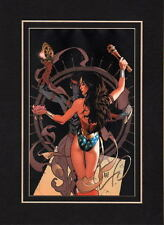 WONDER WOMAN 151 COVER PROFESSIONALLY MATTED PRINT Frame Ready DC Adam Hughes