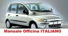 Fiat Multipla (1998 / 2010) Manuale Officina ITALIANO SU CD gpl metano natural