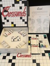 Crosswords Board Game JRS Games Great Party Game 1987 Complete Vintage In Box