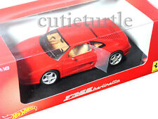 Hot Wheels Ferrari F355 F-355 Berlinetta 1:18 Diecast Model Car BLY57 Red