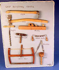 Ship building tools  - 1/12 scale reproduction