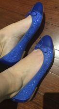 �� New Leather / Sparks Mimco Flats SANDALS SHOES Wedges 39 Or 8 + Dust Bag