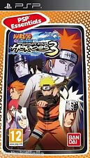 Naruto Shippuden Ultimate Ninja Heroes 3 PSP Brand New Factory Sealed