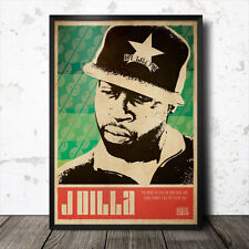 J Dilla arte cartel de música rap hip hop MF Doom Flying Lotus Mos Def Madlib común