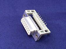 ERNI TMC SERIE, 15 vie angolo retto attraverso foro montaggio PCB Connettore D-SUB Socke