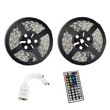 XTCLB 10m 60leds/m RGB 5050 SMD Waterproof 600 LED Lighting Rope Lights Strip...