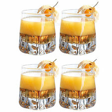Set di 4 33cl BICCHIERI BAR BEVANDE PARTY bicchieri COCKTAIL VODKA WHISKY
