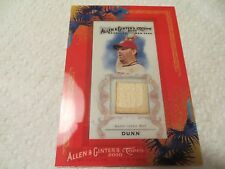 2010 TOPPS ALLEN AND GINTER GU BAT RELIC ADAM DUNN WASHINGTON NATIONALS