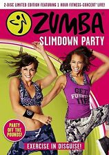 NEW Zumba Slimdown Fitness Party New Exercise DVD Released 5th December 2016