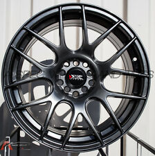 18X7.5 XXR 530 Wheels 5X100/114.3 +38 Chromium Black Fits Wrx Celica Civic Rsx