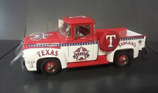1956 FORD F100 TEXAS RANGERS MLB #1FAN TEAM TRUCK RARE DANBURY MINT 1/24 DIECAST