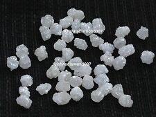 2.01 ct lot rare natural real snow white raw rough loose diamond for jewelry n r