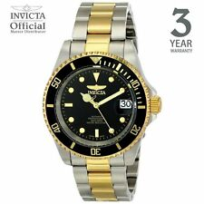 Invicta Pro Diver Automatic Men Gold IP 40mm Stainless Steel Diving Watch 8927OB