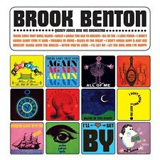 CD BROOK BENTON WHEN I GROW TO OLD TO DREAM ALL OF ME AFTER YOU'VE GONE QUINCY