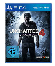 Uncharted 4 A Thiefs End inkl. Multiplayer DLC - PS4 Neu+in Folie