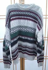 Vintage HAMPTON BAY TRADING COMPANY USA Knit Crew Neck Casual Sweater XL