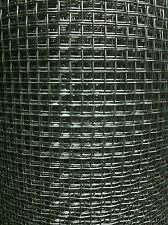 Rete Acciaio Inox AISI 304 filo 0,6 luce mm 2,87 altezza 1 mt cm 50x100  NFR 8