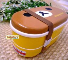 San-x Rilakkuma Bear Food Lunch Box Bento W/chopsticks S-3908 AU