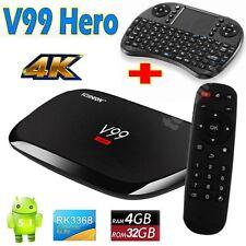 V99Hero 4GB 32GB RK3368 Octa core 2.4G/5G+AC WIFI Android 5.1 KDOI16.1 4K TV BOX