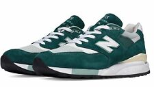 DS NIB MENS NEW BALANCE 998 CSAM MADE USA SEAGREEN COSMETIC SECONDS 8.5 NOBOXLID