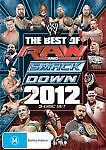 WWE - Best Of Raw Smackdown 2012 (DVD, 2013, 4-Disc Set) NEW AND SEALED