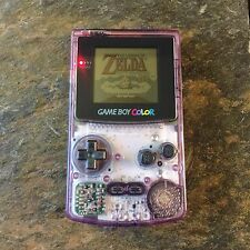 Nintendo Game Boy Gameboy Color System Atomic Purple *TESTED & WORKING!*