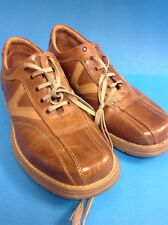 Pair Of Rockwood Mens Leather Shoes EU Size 42 Brown Tan VGC