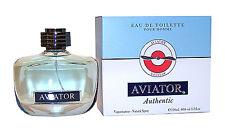 Paris Bleu Parfums AVIATOR AUTHENTIC EdT 100 ml Eau de Toilette Spray - NEU/OVP