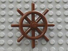 LEGO PIRATES RedBrown Boat wheel 4790 / Set 10143 10210 7075 7029 6243 4768 7776