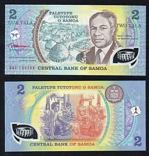 2 tala central Bank of Samoa 2008  FDS/UNC  //
