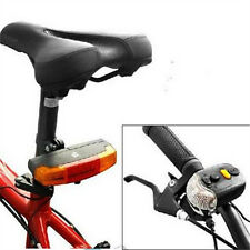 3 in 1 Cycling Bicycle Bike Turn Signal Brake 7 LED Tail Light Electric Horn