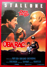 OVER THE TOP 1987 SYLVESTER STALLONE  ARM WRESTLING RARE EXYU MOVIE POSTER # 2