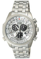 Citizen BL5400-52A Men's Eco Drive  Alarm Chronograph Perpetual Calendar Watch