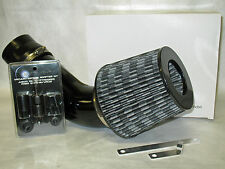 "Universal 3.5"" Diameter Carbon Fiber Short Ram Air Intake + Sensor Adapter Kit"