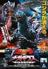 Godzilla Vs Megaguirus Poster 02 Metal Sign A4 12x8 Aluminium