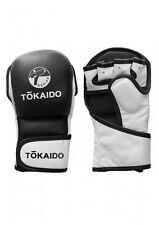Tokaido- MMA SPARRING HANDSCHUHE, TOKAIDO STRIKER, SCHWARZ / WEISS. S-XL.