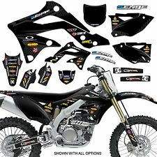 1990 1991 KX 125 250 GRAPHICS KIT KAWASAKI KX125 KX250 DECO DECALS STICKERS